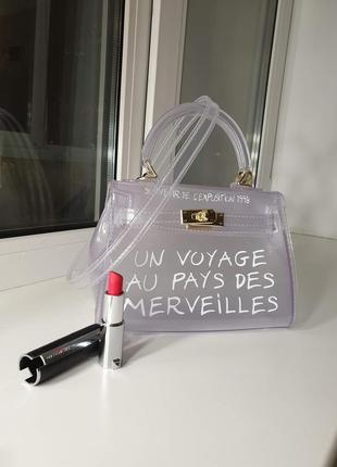 Хит сезона! стильная сумка crossbody - small white3