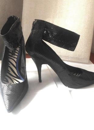 Стильные фирменные туфли next, р.42 код k4223