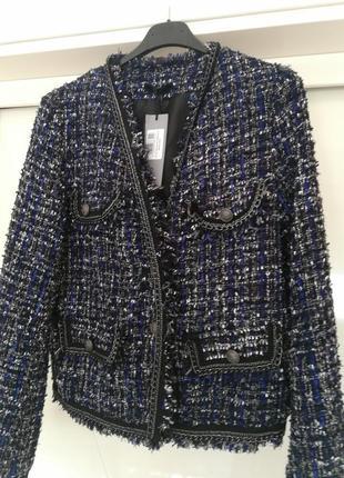 Пиджак в стиле coco chanel италия