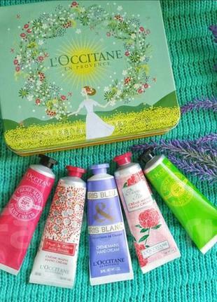 Подарочный набор кремов для рук l`occitane