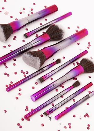 Набор кистей для макияжа royal affair 10 шт bh cosmetics оригинал