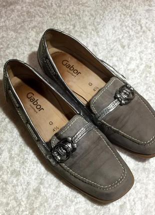 Мокасины туфли, кожа