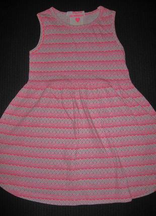 Летнее платье y.d. 5-6л