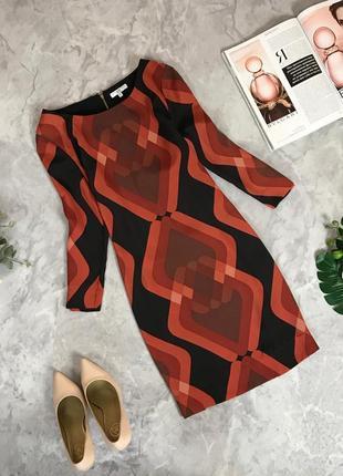 Демисезонное платье с принтом  dr1912115  new look