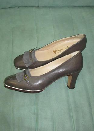Новые туфли кожа италия