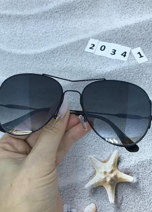 Солнцезащитные очки черный  к. 2034 1