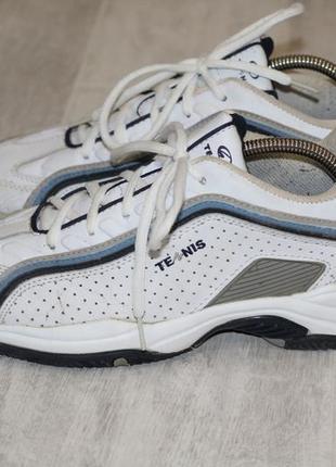 Кожаные кроссовки tennis 40-41