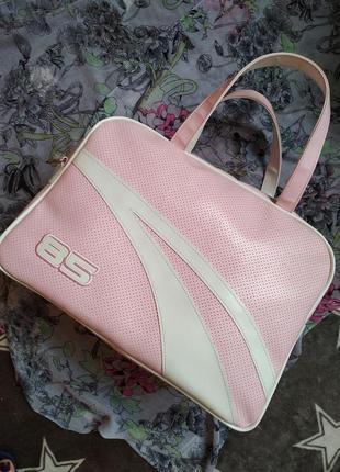 Большая вместительная спортивная сумка,  дорожная,