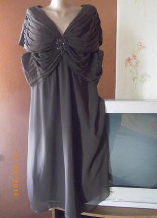 Безумно красивое платье большим savoir