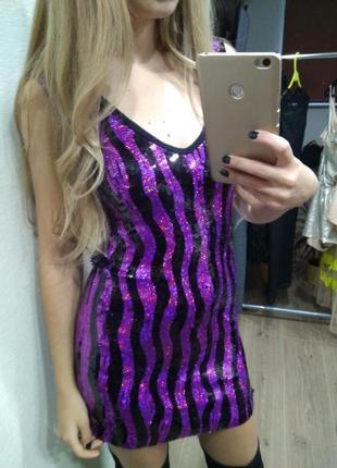 Платье платице блестящее яркое праздничное