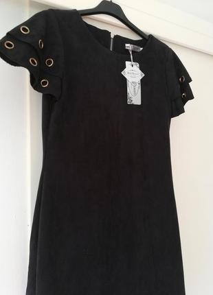 Стильнейшее платье под замш italia