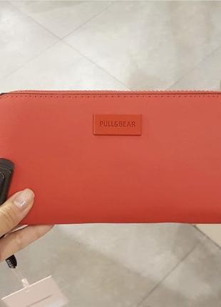 Красный кошелёк новый