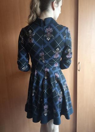 Платье с воротником2 фото