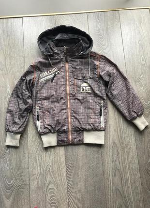 Весенняя куртка на две стороны