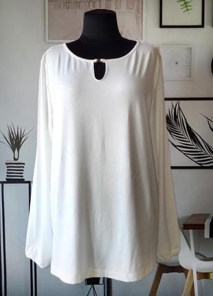 Блуза трикотажная свободного кроя per una