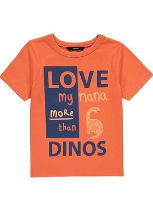 Яскрава футболка для хлопчика на 5-6 р. george