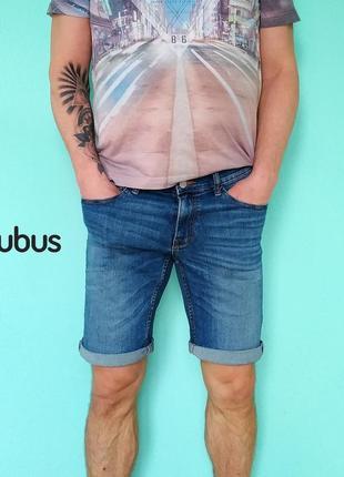 Мужские джинсовые шорты cubus