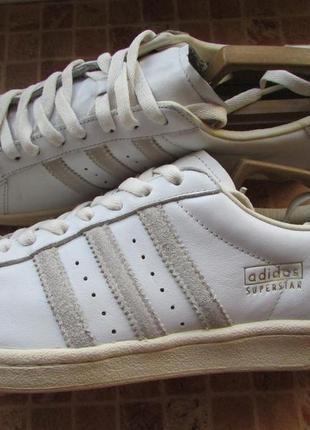 Кроссовки для парня adidas superstar кожа длина по стельке 28, 5 см