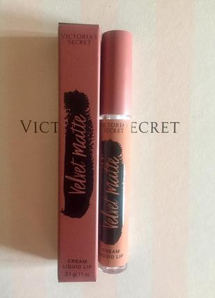 Матовая помада victoria's secret velvet matte perfection
