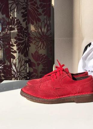 Доставка в подарок, замшевые итальянские броги, туфли на шнуровке, натуральная замша3 фото