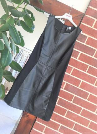 Кожаное платье h&m платье по фигуре