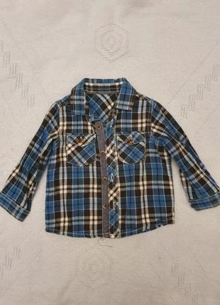 Рубашка mothercare на годик