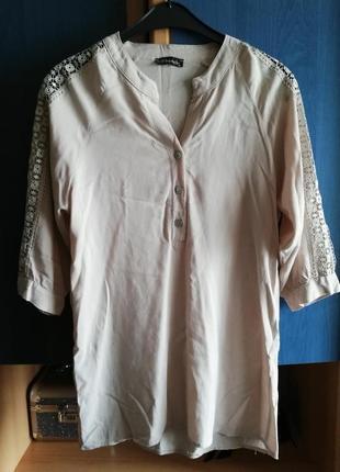 Рубашка-туника хлопок