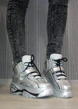 Новые трендовые кроссовки-ботинки