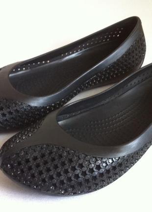 Балетки , туфли crocs размер w8 (38-38,5)  оригинал❗❗❗