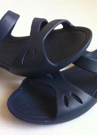Босоножки , сандалии , шлепанцы crocs kelli ☀️ 😎 размер  w7( 37) оригинал ❗❗❗