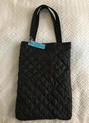 Эко сумка торба шоппер @don.bacon чёрный с вышивкой