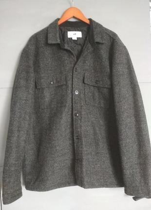Теплющая рубашка куртка. шерстяная рубашка. пиджак. короткое пальто