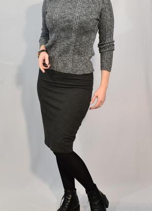 2731\50 меланжевый хлопковый свитер new look xl