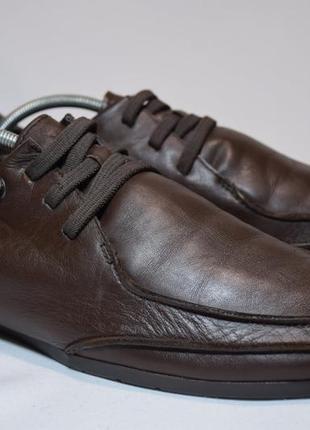 Туфли camper мокасины кожаные мужские. оригинал. 42-43 р./28 см.