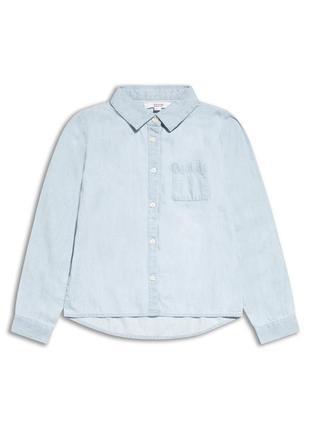 Рубашка коттоновая для девочки р. 140-146