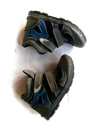 Деми ботинки с утеплителем