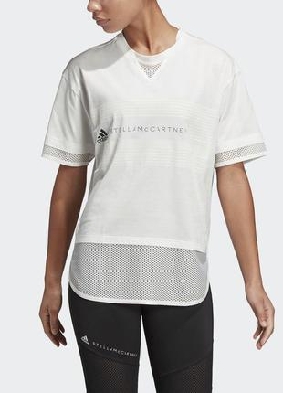 Фирменная футболка с отделкой из сетки
