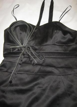 Корсетное платье с молнией в виде броши и бретельки через одно плечо next  большой р-р