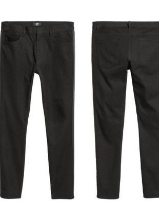 Чёрные штаны с лампасами hm s 29-30