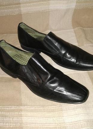 Брендовые туфли lotus натуральная кожа 42 р.