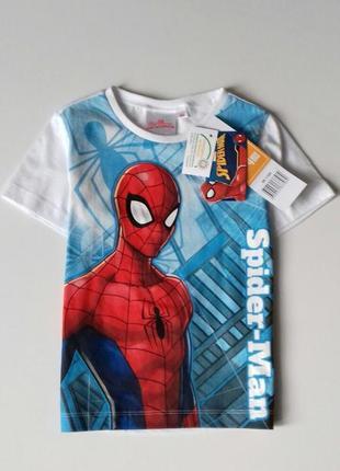Яскрава футболка для хлопчика на 4 р. - disney / marvel / spider man / sun city