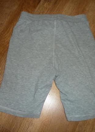 Тонкие трикотажные шорты на 8-9 лет f&f