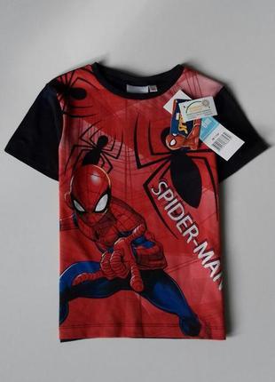 Яскрава футболка для хлопчика на 6 р. - disney / marvel / spider man / sun city