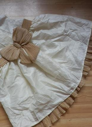 Фирменное нарядное платье nut mag  малышке 3-6 месяцев