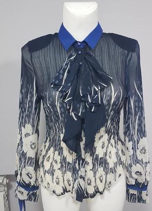 fc188c43d31 Красивая блузка с жабо жатка большой размер