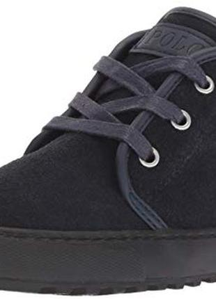 Деми ботинки из натуральной замши polo ralph lauren 38 eur
