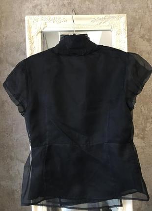 Шелковая блузка на запах супер качество!2 фото