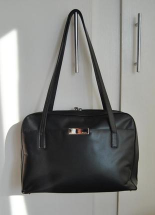 Кожаная деловая сумка medici германия / шкіряна сумка