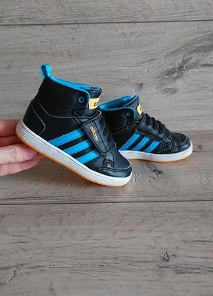 Высокие кроссовки хай-топы адидас adidas 22-23 р 14,5 см
