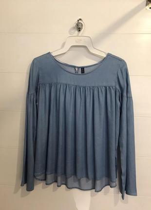 Джинсовая блузка lipo lipo!